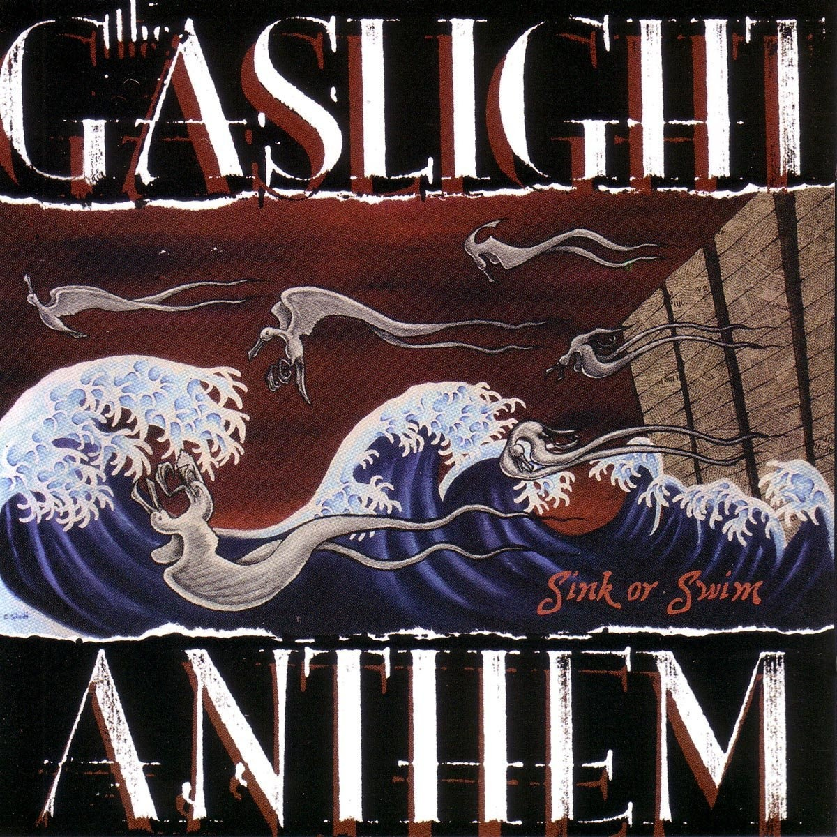 gaslight anthem sink or swim vinyl