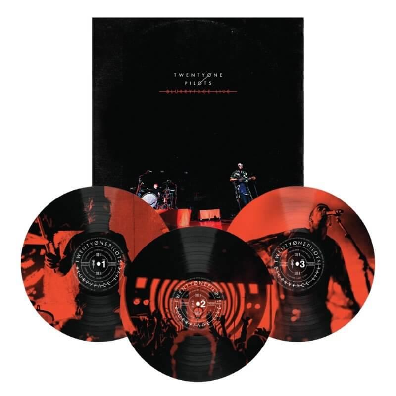 Twenty One Pilots Quot Blurryface Live Quot Limited Vinyl Vinyl