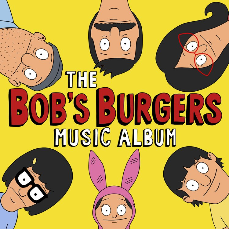 Image result for bob's burgers vinyl art