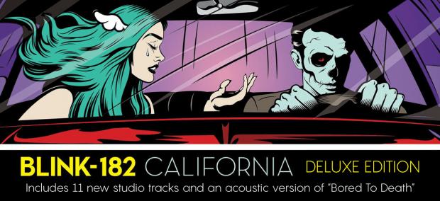 """Blink 182 """"California"""" deluxe vinyl"""