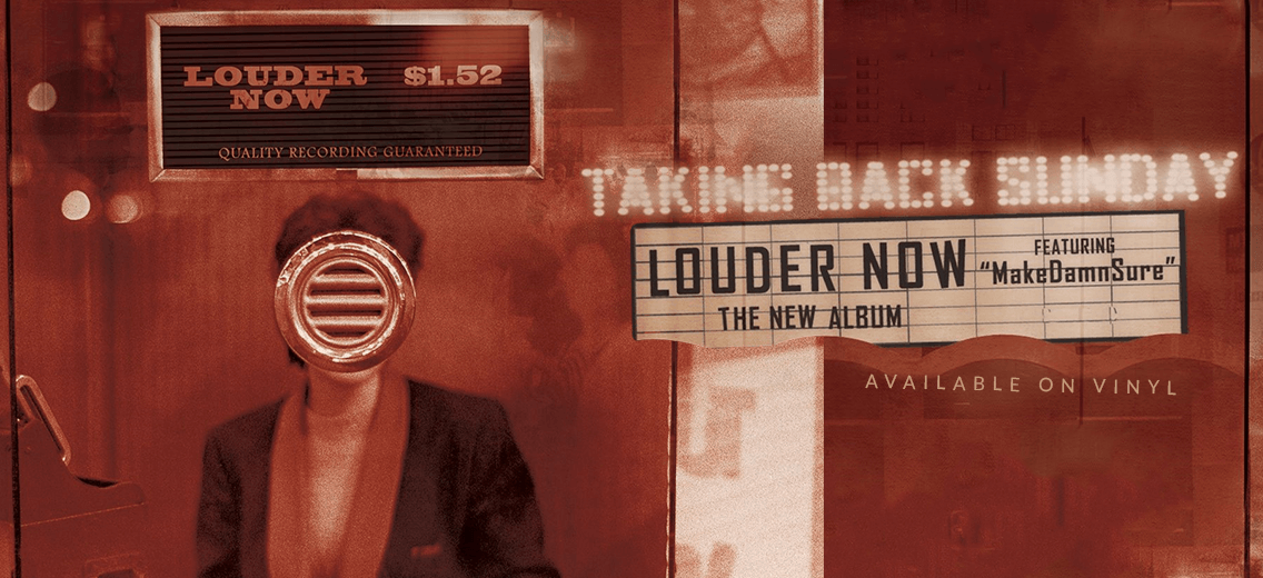 taking back sunday quotlouder nowquot vinyl reissue vinyl