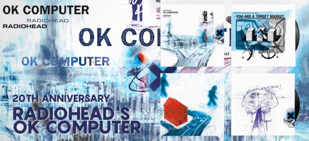 "Radiohead ""Ok Computer"" 20th Anniversary Vinyl Reissue"