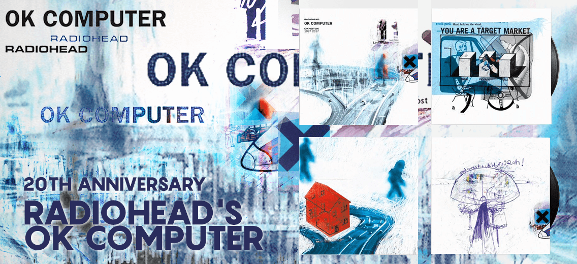 Radiohead Quot Ok Computer Quot 20th Anniversary Vinyl Reissue