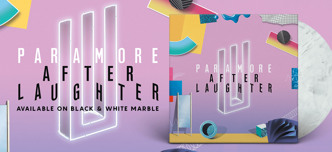 Paramore Quot After Laughter Quot Colored Vinyl Pre Order Vinyl