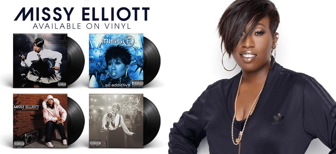Four Missy Elliott Vinyl Reissues Vinyl Collective