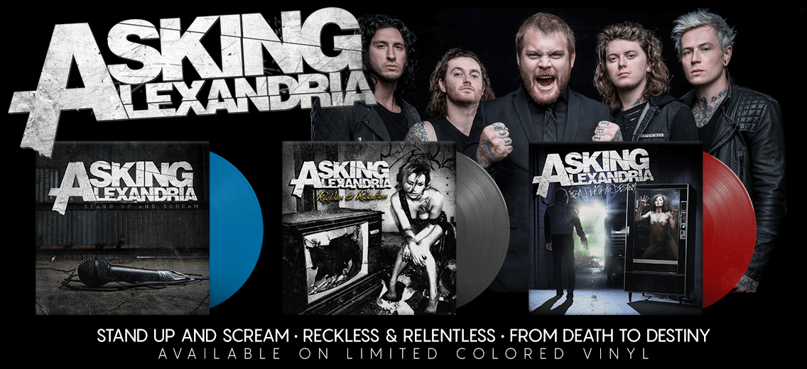 Asking Alexandria Vinyl