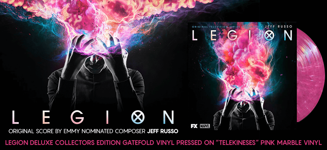 Lakeshore Records To Release Legion Soundtrack On Limited