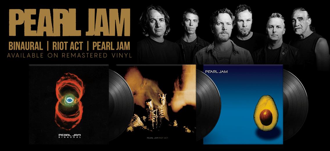 Pearl Jam Quot Riot Act Quot Quot Pearl Jam Quot And Quot Binaural Quot Vinyl