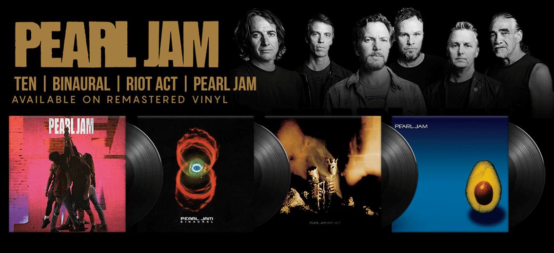 Pearl Jam Vinyl Reissues