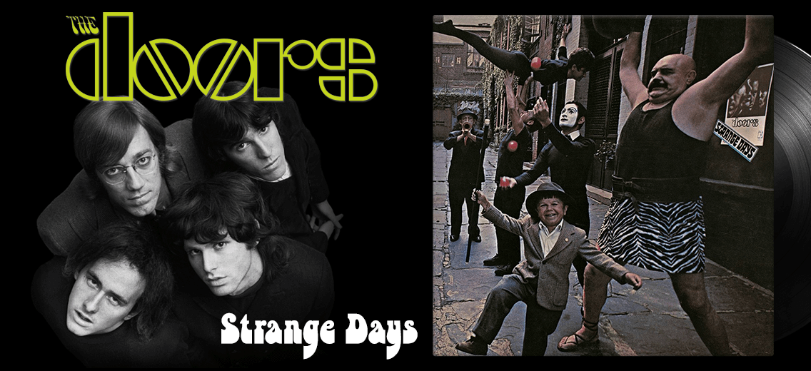 The Doors Strange Days Vinyl