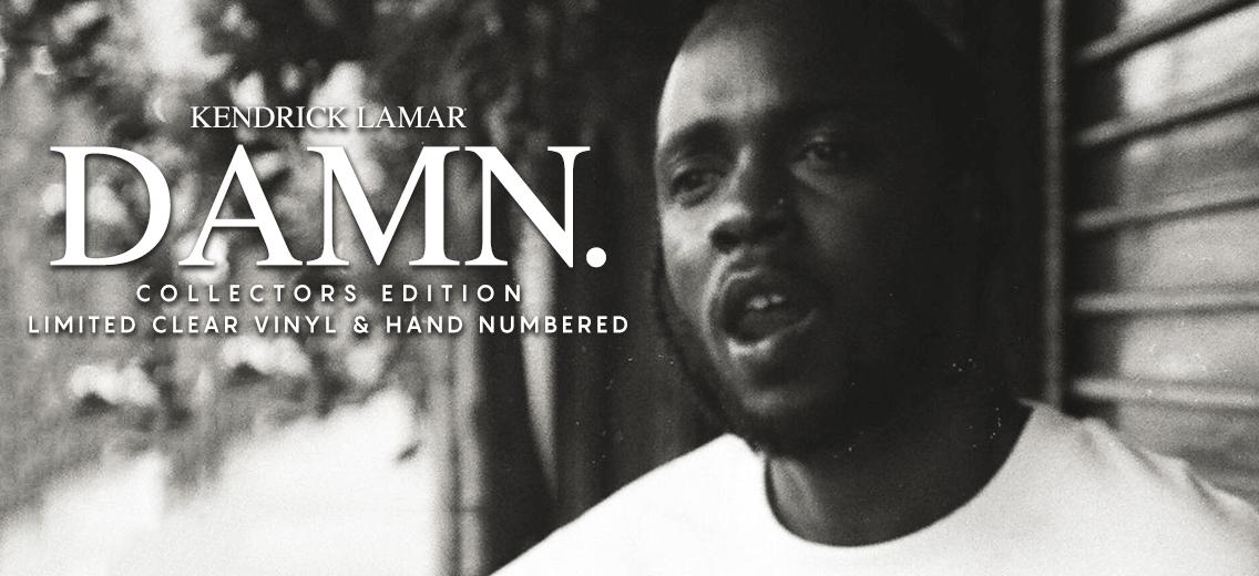Kendrick Lamar Damn Collectors Edition Vinyl