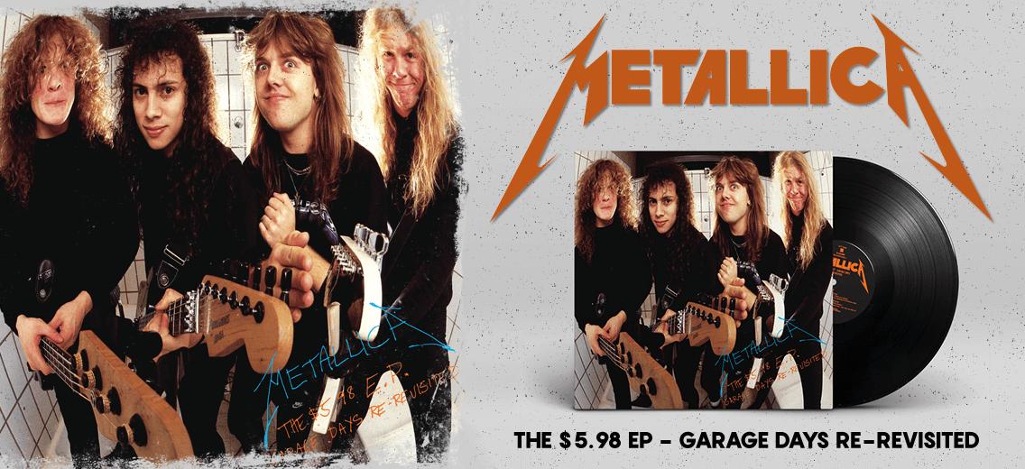Metallica Garage Days Vinyl