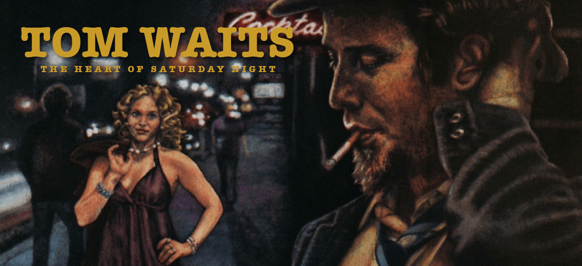 Tom Waits Saturday Night Vinyl