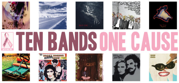 Ten Bands One Cause Pink Vinyl