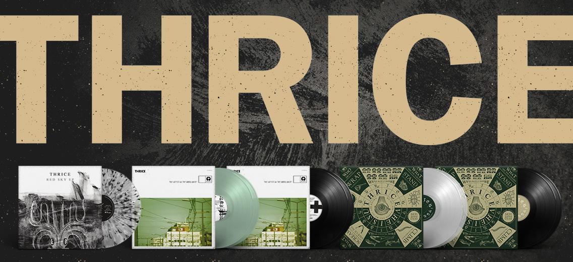 Thrice Vinyl Reissues